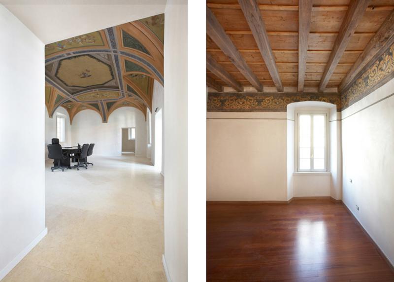 Vivere il fascino di un antico palazzo del settecento marco paolo servalli architettura - Restauro immobili ...