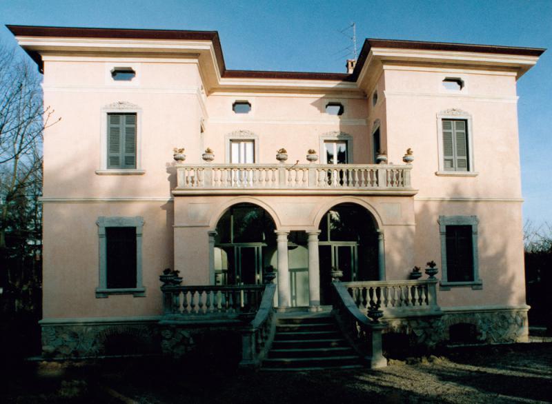 Ritrovare lo splendore di una villa eclettica marco paolo servalli architettura - Restauro immobili ...