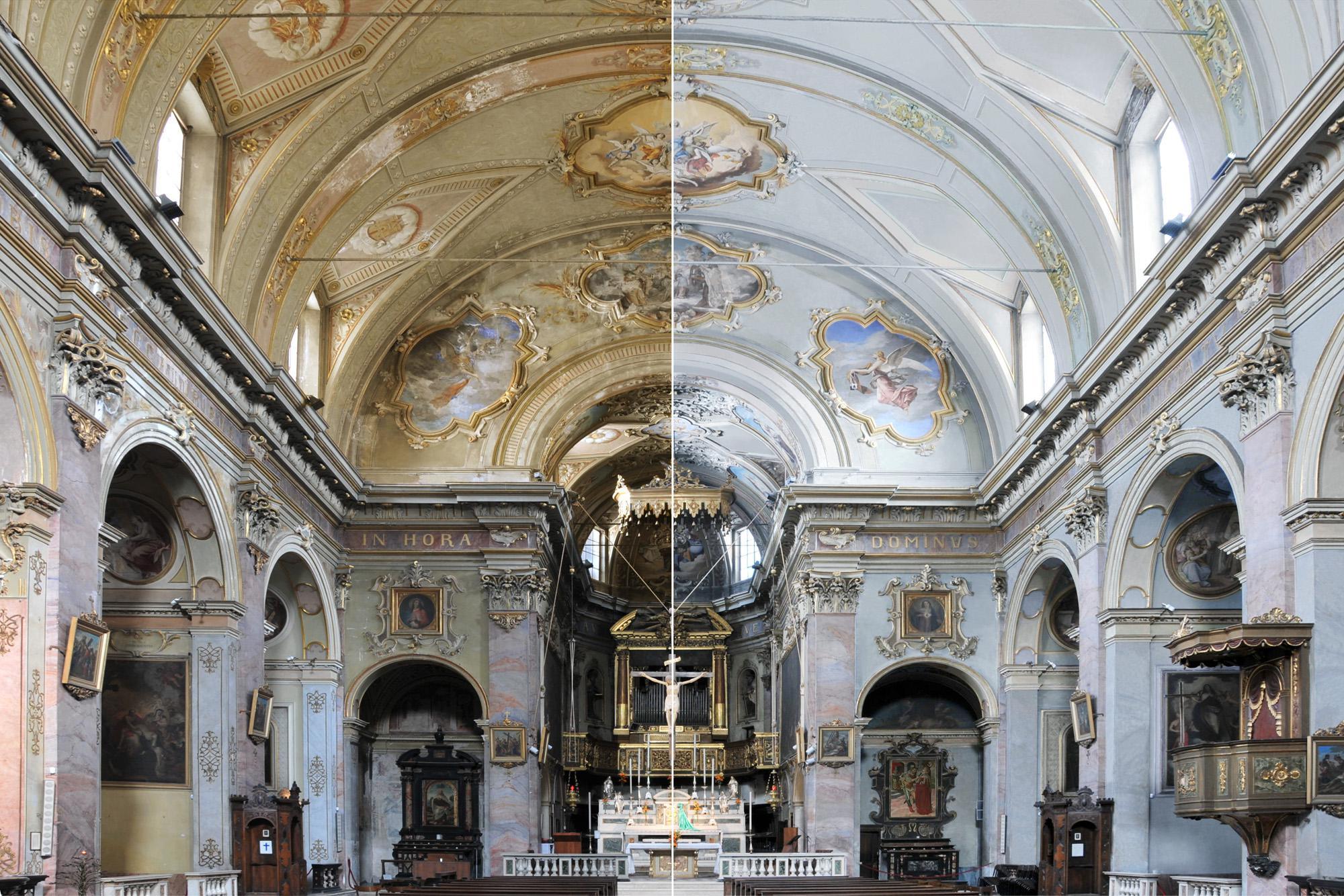 Un intervento completo di restauro per una chiesa di grande valore artistico marco paolo - Restauro immobili ...